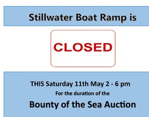 Ramp Closure for Bounty of Sea Auction